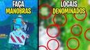 FAÇA MANOBRAS COM UM VEÍCULO EM DIFERENTES PONTOS DENOMINADOS Fortnite Battle Royale