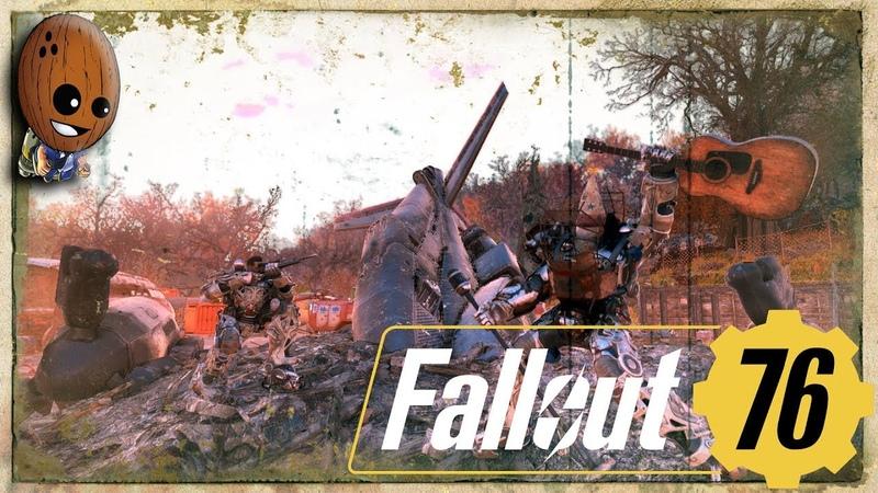 Fallout 76 - Прохождение 11➤Платина Графтона. Безопасно для работы. Склад Графтон стил