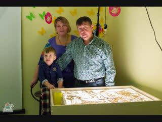 Новогодний видео-ролик семьи Натальи Андреевой 25.11