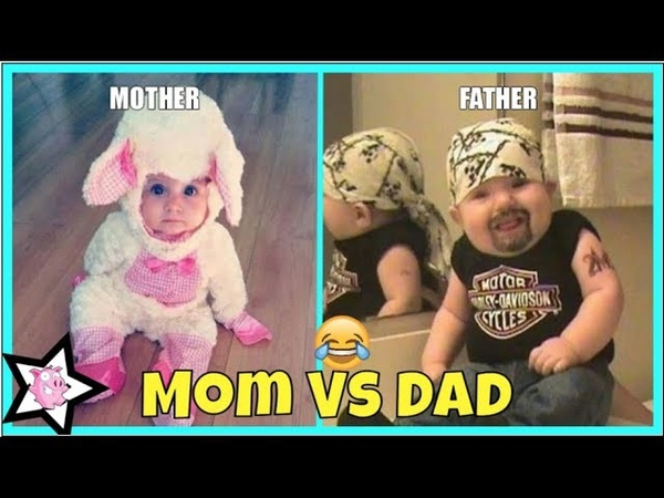 Mom Vs Dad Baby Care || Differences Between Mom And Dad Parenting