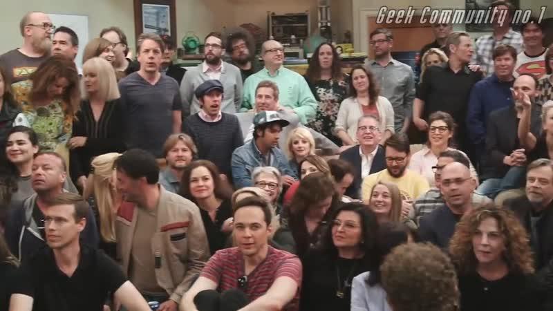 Теория Большого Взрыва актёры о том чего им будет не хватать Geek Community no.1