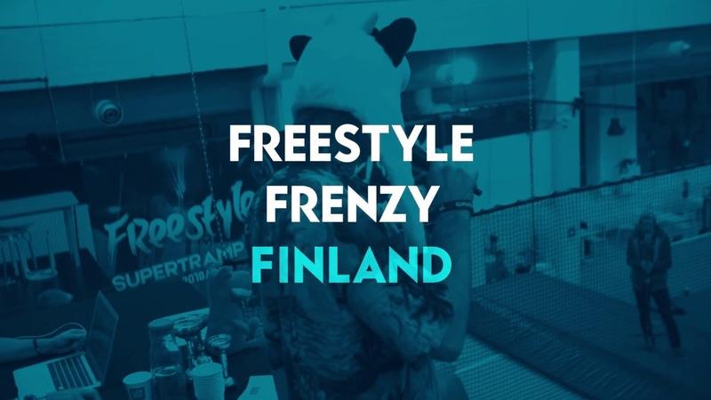 Freestyle Frenzy SuperTramp Battle Finland w/ GREG ROE - Reenis, Oulu Dec 1 2018