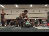 Akito, Konosuke Takeshita vs. Mizuki Watase, Shigehiro Irie (DDT - Road to Ryogoku 2018 ~ Dramatic Dream Takadoro)
