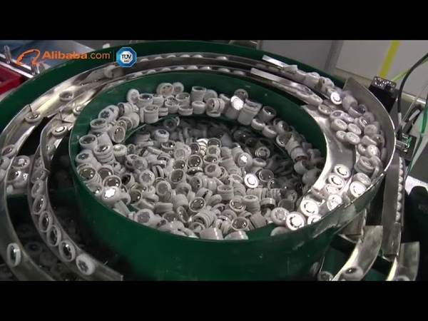 Производство li-ion аккумуляторов 18650 - процесс изготовления
