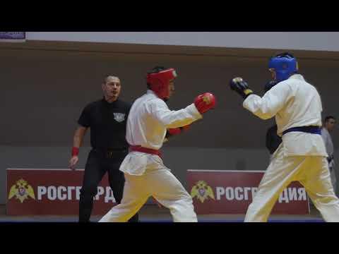 Ибрам Халирбагинов Чемпионат РОСГВАРДИИ по рукопашному бою