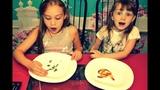 Обычная Еда против Мармелада Челлендж! Real Food vs Gummy Food