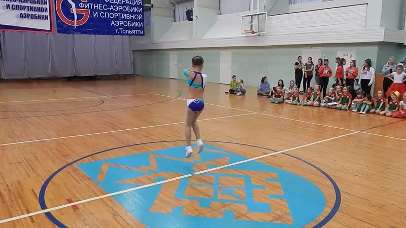Вера Соболева на фитнес-конвенции