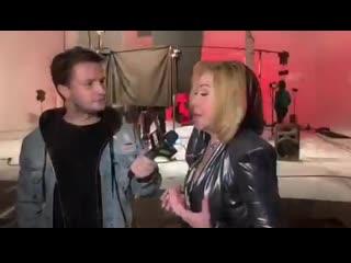 Съёмки клипа Любови Успенской и CYGO на песню Чёрная роза