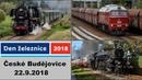 Národní den železnice v Českých Budějovicích (National Day railways) 22.9.2018 (4K)