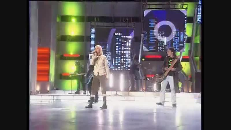 Глюк'oZa Глюкоза Невеста Золотой граммофон декабрь 2003 года