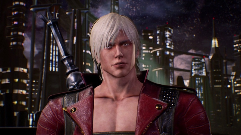 Marvel vs Capcom: Infinite - Story: Dante (DMC) Rocket Raccoon Uses Ebony Ivory Cutscene