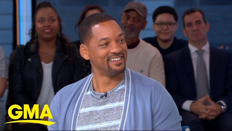 Will Smith talks starring in live-action adaptation of 'Aladdin' l GMA