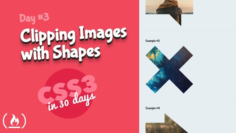 Clipping Images: CSS Tutorial (Day 3 of CSS3 in 30 Days)