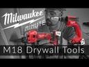 Milwaukee Minute | Drywall Screw Gun Cut Out Tool