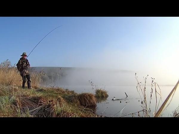 ЁЖИКИ В ТУМАНЕ. Рыбалка на озере в молочной долине. Окунь на отводной поводок. Altai, perch fishing