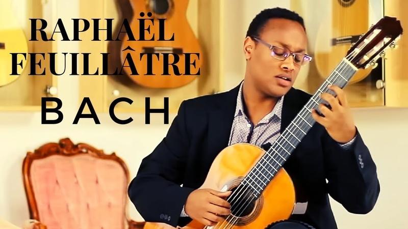 Raphaël Feuillâtre plays BACH - BWV 826 Partita No. 2 on a 1931 Santos Hernandez