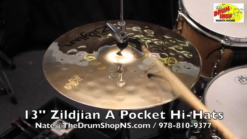 Zildjian A Pocket Hi-Hats 13'' - The Drum Shop North Shore