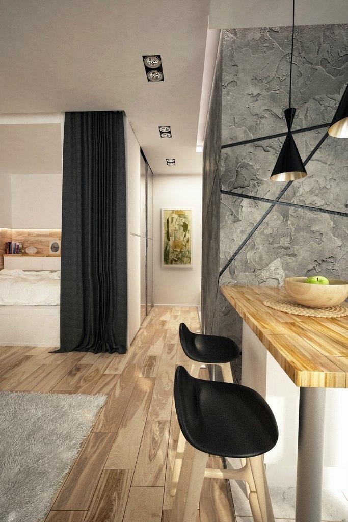 Дизайн проект небольшой квартиры