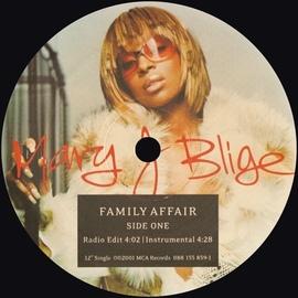Mary J. Blige альбом Family Affair