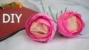 Цветы из конфет и гофрированной бумаги для пасхального букета Цветы из бумаги DIY Buket7ruTV