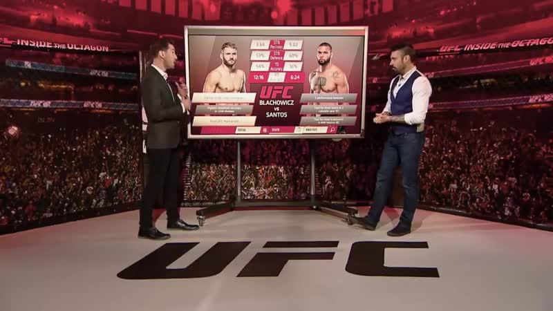 UFC Прага Блахович vs Сантос Разбор полетов с Дэном Харди