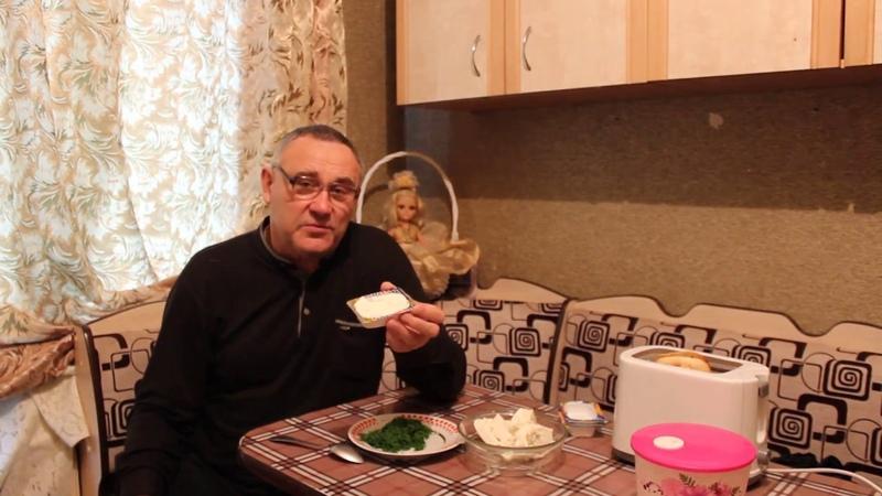 Про еду. Рецепт №2 Замазка-2 - бутербродная паста из сыра.
