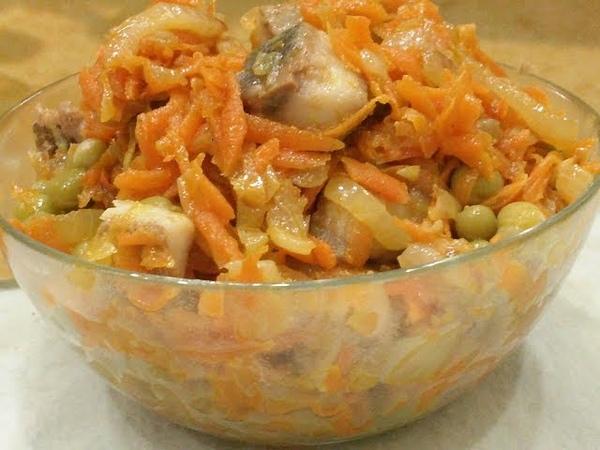 Попробуйте и Вы Обалдеете Как это Вкусно Салат Закуска из Селедки Литовский салат Herring Snack