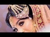 Unique Masterpiece ASIAN Bridal Jewelry with complete Gorgeous Bridal Makeup LOOKS