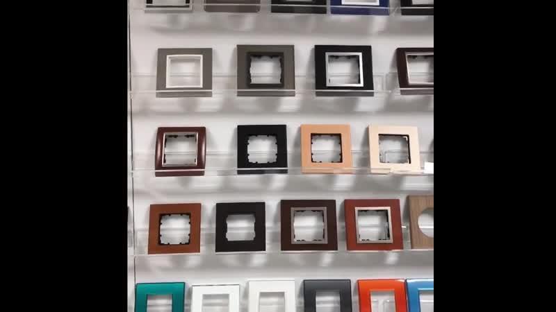 В нашем салоне представлено около 400 разных моделей розеток и выключателей Каждая позиция была подобрана индивидуально что д