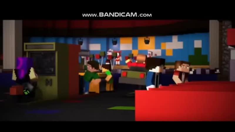 [RUS/ENG SUB] Minecraft   FNaF: SL Music Video   Full Animation  
