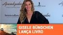 Gisele Bündchen lança livro em Porto Alegre SBT Rio Grande 12 11 18