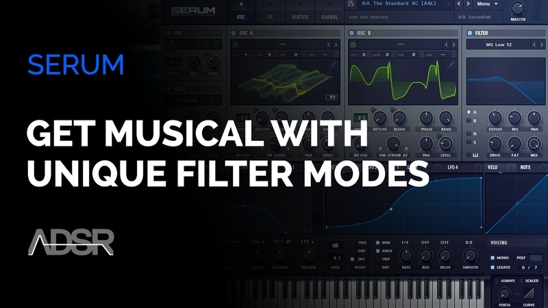Serum - Get More Musical Results Using Unique Filter Modes