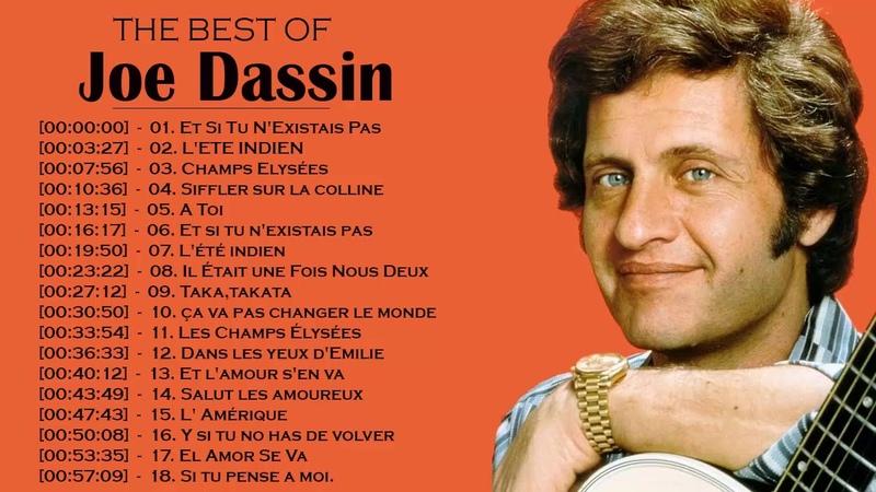 Joe Dassin Greatest Hits 2018 - Les Meilleurs Chansons de Joe Dassin