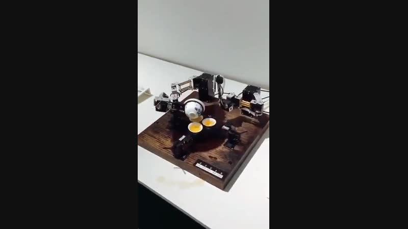 Робот для чайной церемонии