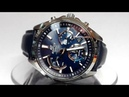 Casio Edifice EFS-S530L-2A Solar powered Sapphire watch video 2018