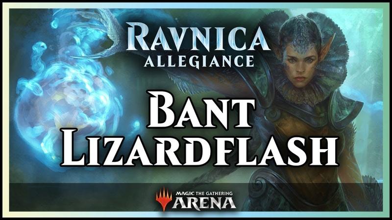Lizardflash, a Bant Masterpiece | Ravnica Allegiance Deck Guide - Magic / Arena