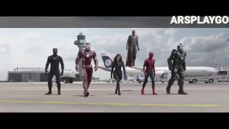 Мстители битва в аэропорту клип (под музыку).mp4