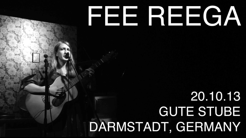 Fee Reega - 'Automuerte' live at the Gute Stube, Darmstadt, Germany 20.10.13