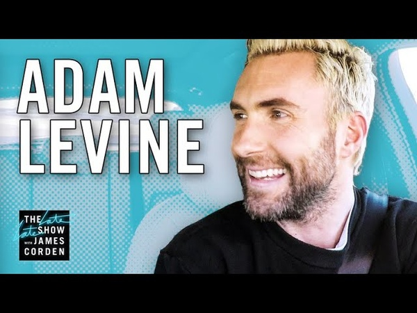 Carpool Karaoke w Adam Levine