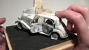 Минимастер 35 Виньетка Под ливнем пуль 2 серия моделизм диорамы