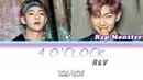 V Rap Monster - 네시 4 OCLOCK Legendado PT-BR Color Coded HANPTROM Lyrics by Izzy