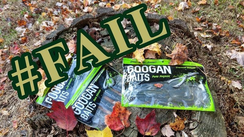Googan Bait Challenge Failure
