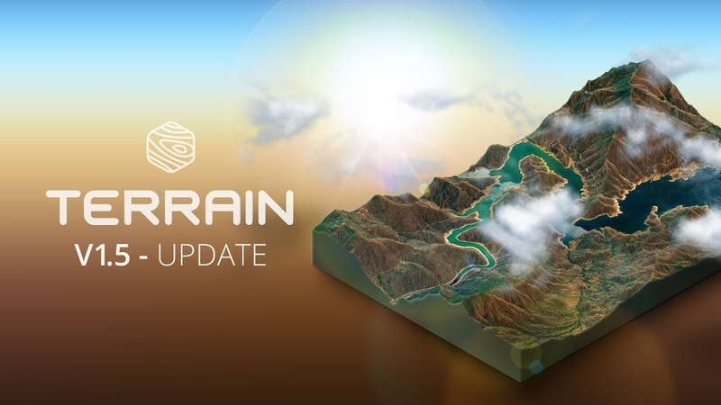 What's new in v1 5 3D Map Generator TERRAIN Photoshop Plugin