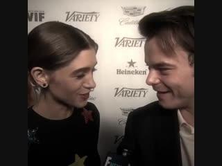 Charlie Heaton & Natalia Dyer vine