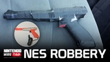 Man Robs a Bank With NES Zapper Nintendo Wiretap