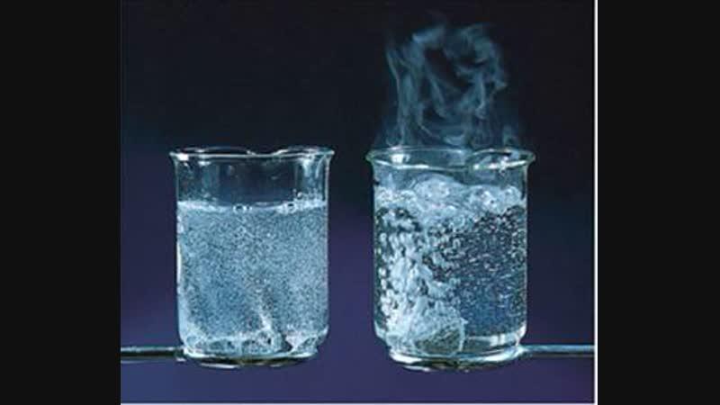 Скорости химических реакций (Фрагмент урока с учеником)