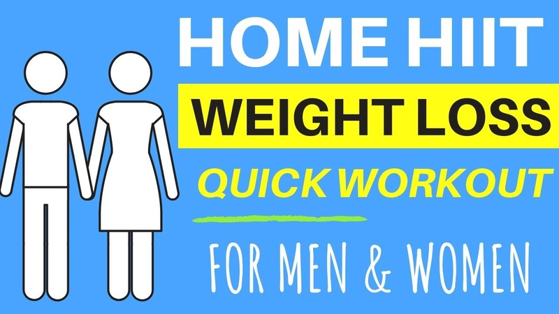 HOME HIIT WORKOUT - TOTAL BODY - NO EQUIPMENT NEEDED - CARDIO HIIT FOR WEIGHT LOSS FOR MEN AND WOMEN