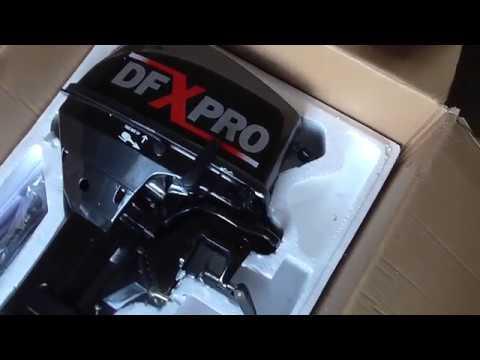 НеТоха. Распаковка и первый пуск нового мотора DFXpro 9.8. Hidea? Seanova?