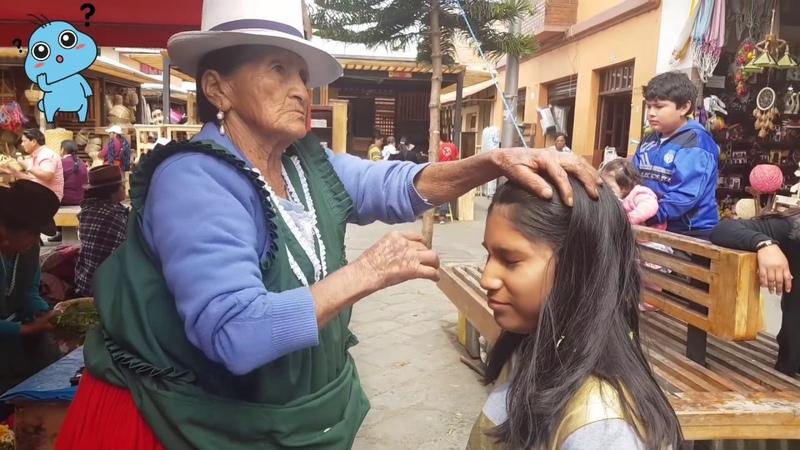 Haciendo La Limpia De Purificacion En Cuenca Ecuador