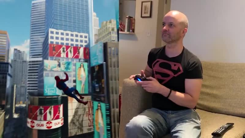 SPIDER-MAN 2s Web-Swing Designer Plays SPIDER-MAN (PS4) for the First Time